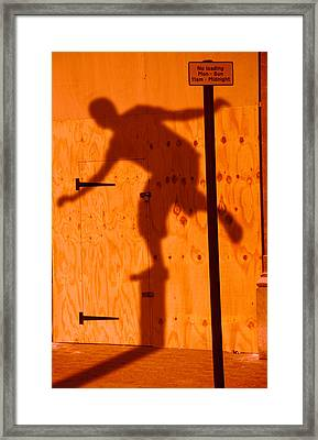 Shadow Play  Framed Print by Richard Piper