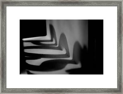 Shadow Play Framed Print