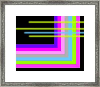 Shadow Framed Print by Robyn Lang