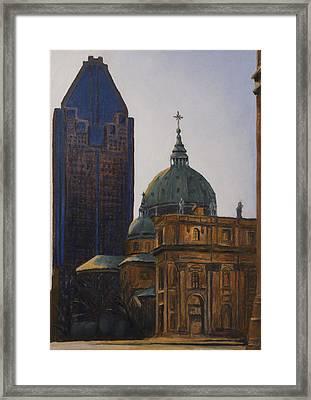 Shadowed Framed Print by Duane Gordon