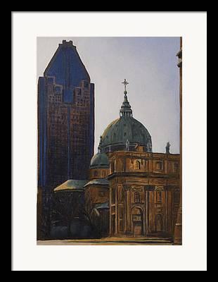 Marie-reine-de Monde Framed Prints