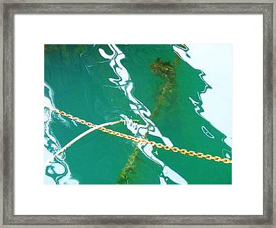 Framed Print featuring the photograph Shadows by Kelly Reber