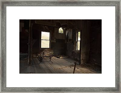 Framed Print featuring the photograph Shadows Of Time by Fran Riley