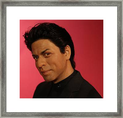 Shahrukh Khan - Shah Rukh Khan - Baadshah Of Bollywood - King Khan - The King Of Bollywood  Framed Print by Lee Dos Santos