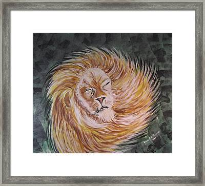 Shake It Off Framed Print by Julia Rita Theriault
