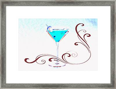 Shaken Not Stirred Framed Print by Bill Cannon