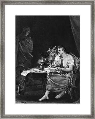 Shakespeare: Julius Caesar Framed Print by Granger