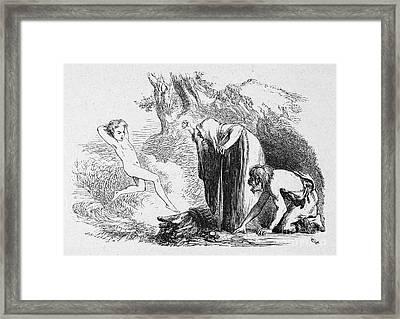 Shakespeare: Tempest Framed Print