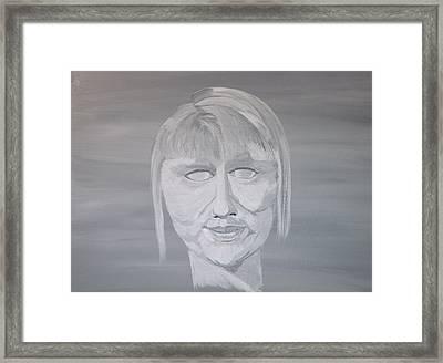Shamed  Framed Print by Mark Moore