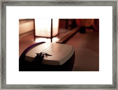 Shamina's Shamisen Framed Print by Dtb