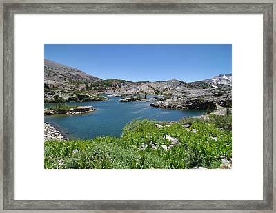 Shamrock Lake By Frank Lee Hawkins Framed Print