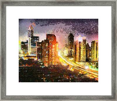 Shanghai Framed Print by Anthony Caruso