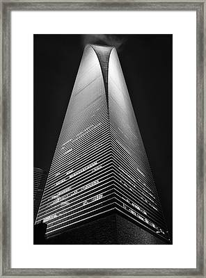 Shanghai World Financial Center Framed Print