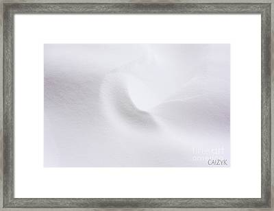 Framed Print featuring the photograph Shanow5 by Cazyk Photography