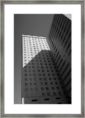 Shapes Framed Print by Farah Faizal