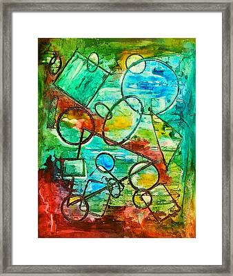 Shapes Framed Print