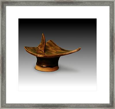 Shark Bait Framed Print by CatamountClyde Studio and Gallery