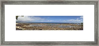 Sharks Cove Framed Print by Paul Topp