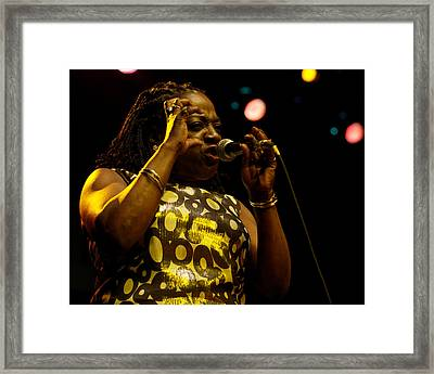 Sharon Jones Framed Print