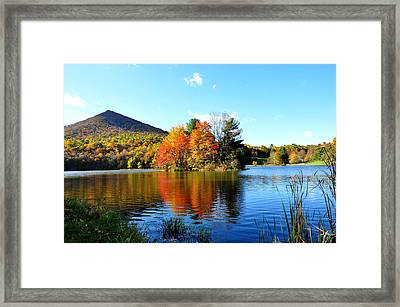 Sharp Top Mountain Framed Print