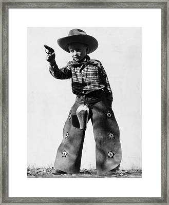 Sharpshooter Framed Print by Archive Photos
