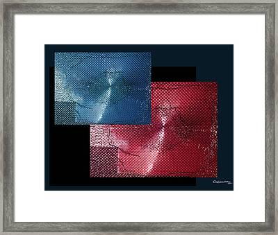 Shattered 3 Framed Print by Xoanxo Cespon