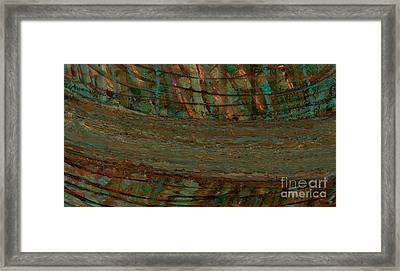 Shattered Abstract Framed Print by Michelle Lee