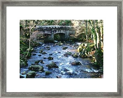 Shaugh Prior Bridge Framed Print by Ron Telford