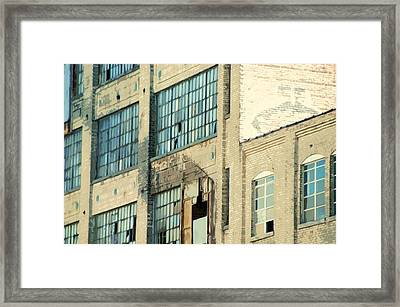 Shaw Walker Building Framed Print by Ritter Photography And Fine Art Images