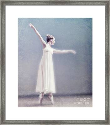 She Dances Framed Print by Linde Townsend