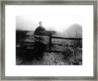 She Has Waited So Long Framed Print by Gun Legler