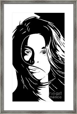 She Is Framed Print by Jack Norton