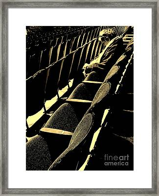 She Prays Framed Print by Joe Jake Pratt