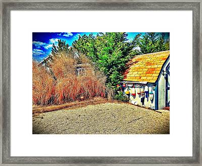 Shed Some Light Framed Print by Jaclyn Dilling