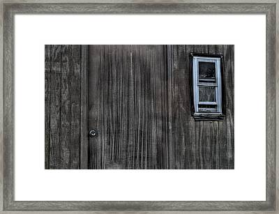Shed Framed Print by Zawhaus Photography