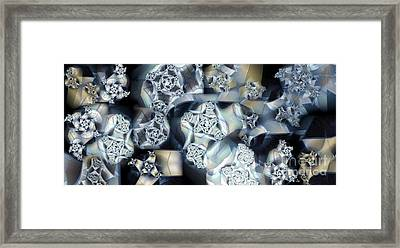 Sheet Metal Framed Print
