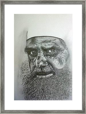 Sheikh I. Framed Print by Paula Steffensen