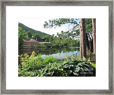 Shelburne Falls Framed Print by Randi Shenkman