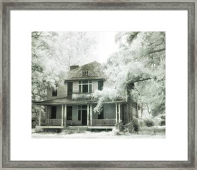 Shelby Hotel Framed Print by Fred Baird