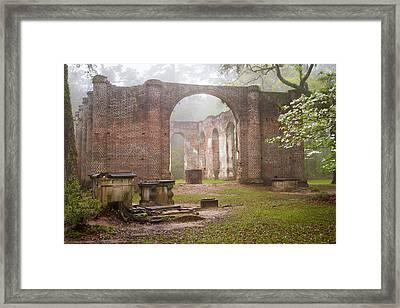 Sheldon Church Ruins Framed Print