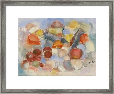 Shell Impresion II Framed Print by Susan Hanlon