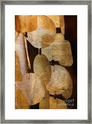 Shell Wind Chimes Framed Print