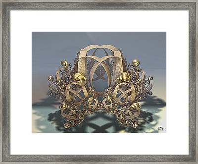 Shells And Rings Framed Print by Manny Lorenzo