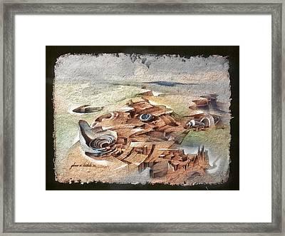 Shellscape 1982 Framed Print by Glenn Bautista