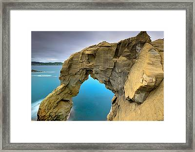 Shen Ao Harbor Framed Print by Photography By Anthony Ko