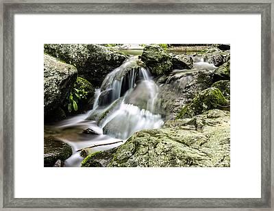Shenandoah Stream Framed Print by Shane York