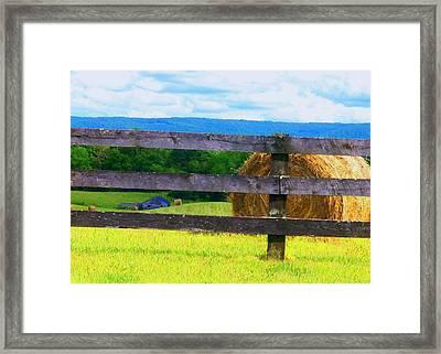 Shenandoah View Framed Print by Joyce Kimble Smith