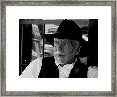 Sheriff Framed Print by Patty Gross