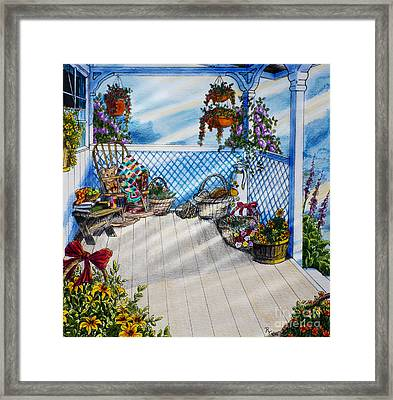 Sheri's Corner Framed Print by Robert Thornton