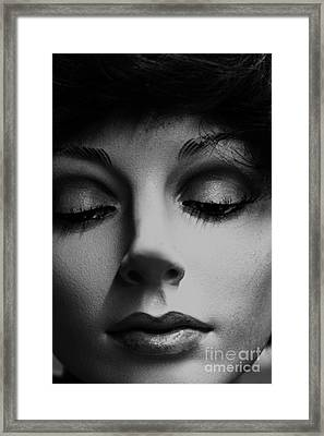 She's Stiff Framed Print by David Taylor
